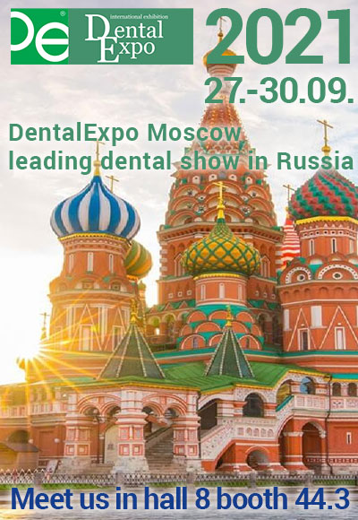 DentalExpo Moscow Russia 27-30/09/2021