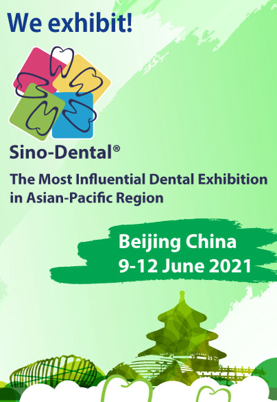 Sino-Dental Beijing China 9-12/6/2021