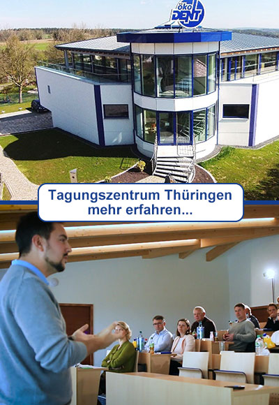 Your modern conference center in the Thuringian 'Holzland'